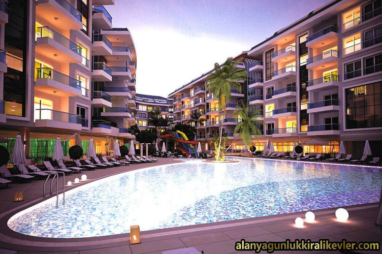 Weekly rental furnished flats in Alanya Kestel