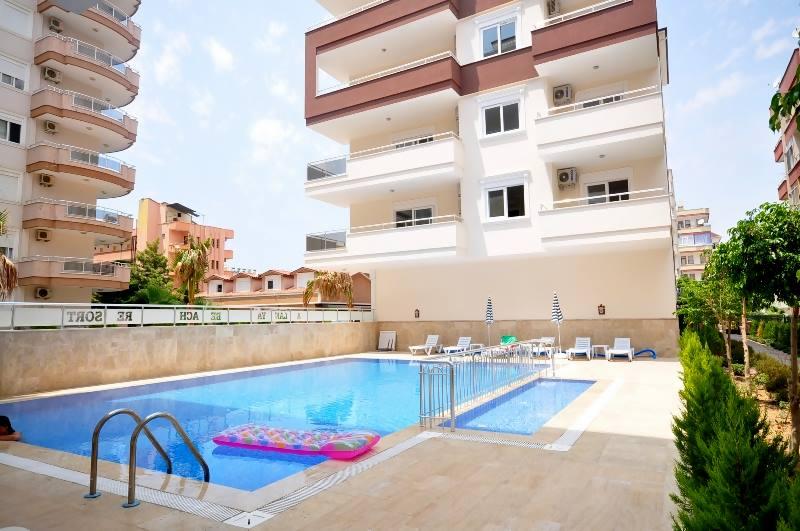 Daily summer flats in Mahmutlar