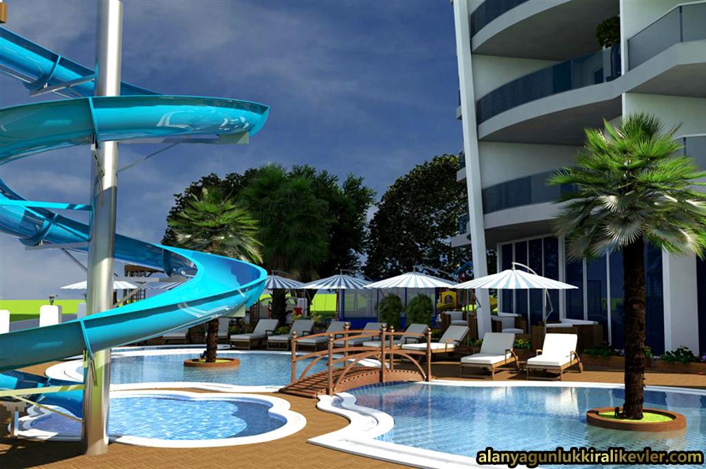 Weekly Rental Summer Houses in Alanya